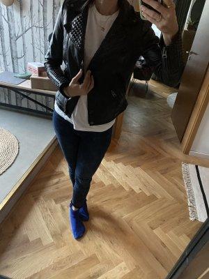 Echte Lederjacke Zara