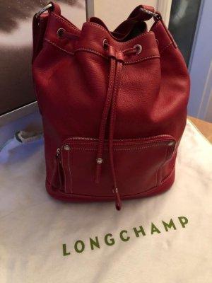 Longchamp Bolso tipo marsupio rojo