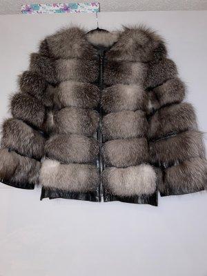 Kein Giacca in pelliccia grigio