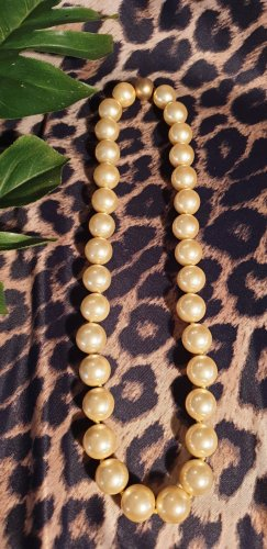 Pearl Necklace gold-colored