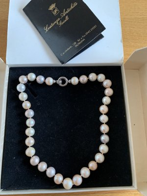 0039 Italy Pearl Necklace multicolored