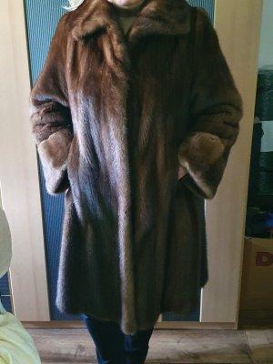 keine Abrigo de piel color bronce Pelaje