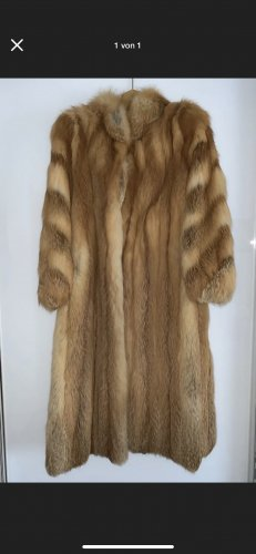 handmade Bontjas camel