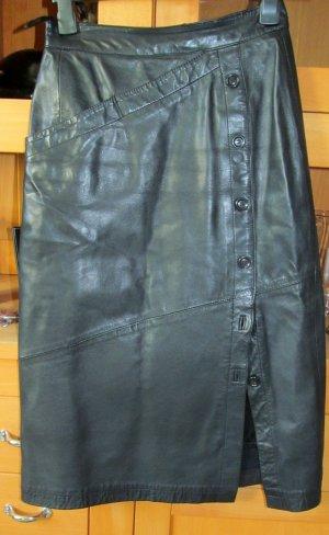 Boutique Jupe en cuir noir cuir