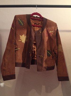 Echtes Leder Jacke-Lederjacke