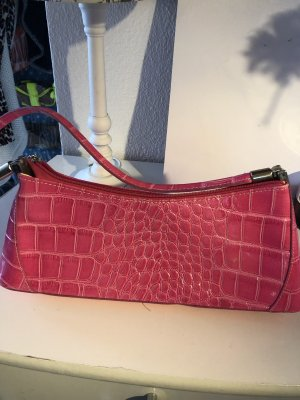 Echtes Leder Pinke Handtasche neu