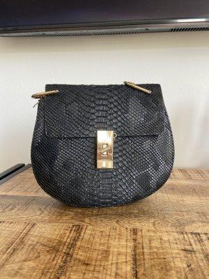 Echtes Leder Tasche in Chloé Stil