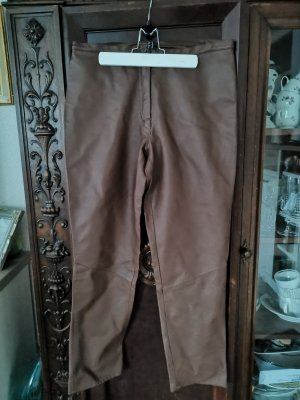2nd One Leather Trousers bronze-colored