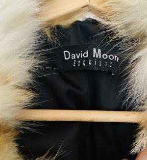 David Moore Chaqueta de plumón beige claro