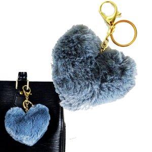 Louis Vuitton Key Chain grey pelt