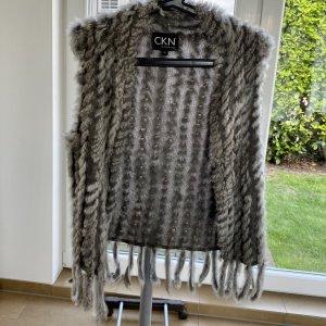 CKN of Scandinavia Giacca di pelliccia bianco-crema