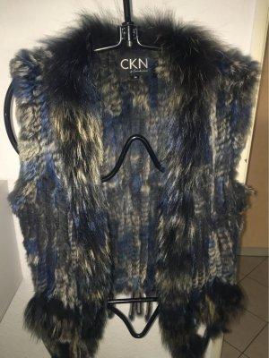 CKN of Scandinavia Fur Jacket multicolored