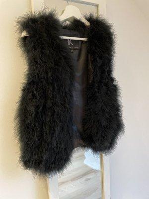 Kopenhagen by Andersen Fur vest black