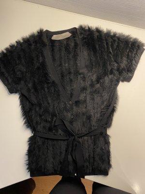 Dorothee Schumacher Fur vest black