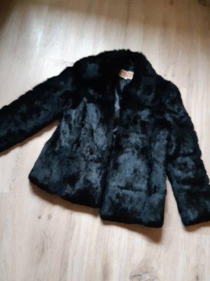 Gil Bret Giacca di pelliccia nero