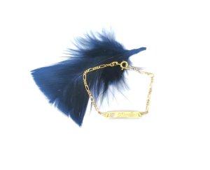Bracelet en or doré or