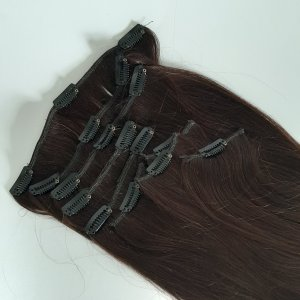 Accesorio para el pelo marrón oscuro