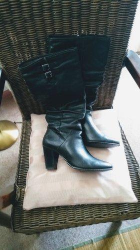 Brazil Lederwaren Slip-on Booties black