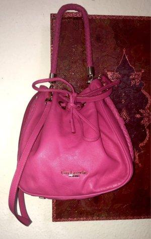 Echtleder Beutel-Handtasche