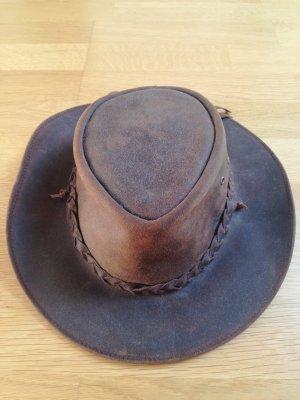 Chapeau de cow-boy multicolore cuir