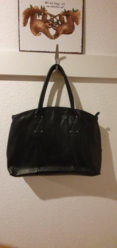 Picard Laptop bag black leather