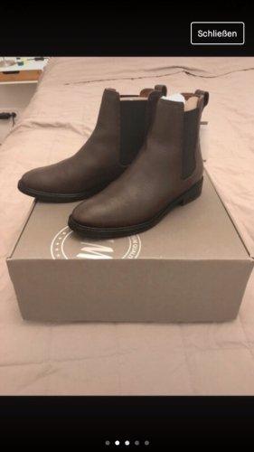 H&M Chelsea laarzen lichtbruin-bruin