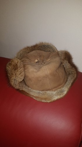 Fur Hat light brown