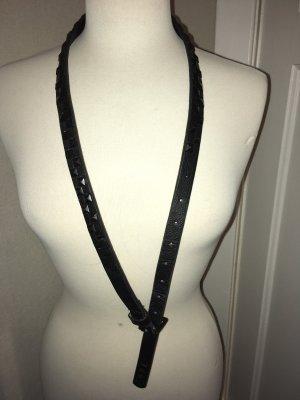 Nikita Studded Belt black leather