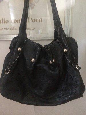 Echtleder Handtasche aus Mailand wie neu