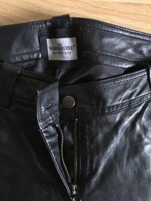 Enemy in the wardrobe Pantalone in pelle nero