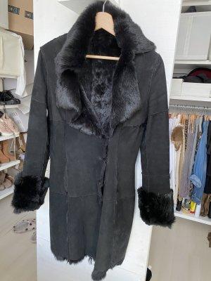 Echtleder/Pelzjacke Mantel Vintage ❤️