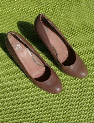 SMH High Heels taupe-grey brown