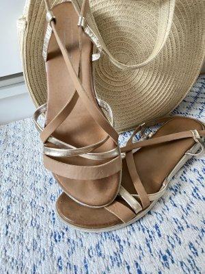 5th Avenue Roman Sandals multicolored leather