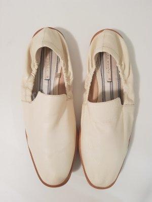 Zara Babouche beige clair cuir