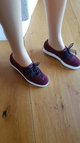 Echtleder-Sneaker von KEDS Gr. 37 bordeaux-rot
