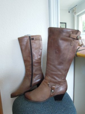 Venturini Heel Boots brown leather