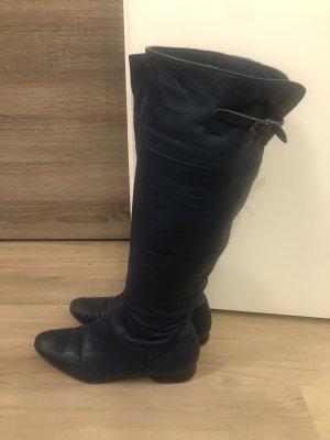 Botas de equitación azul oscuro