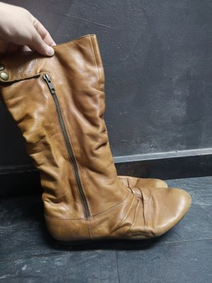 Bianco Short Boots light brown