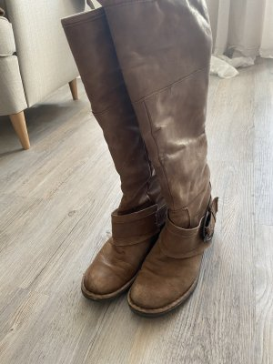 Made in Italy Jackboots camel
