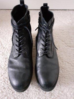 5th Avenue Bottines à lacets noir
