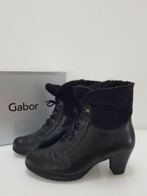 Gabor Booties black leather