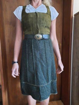 Töpfer Leather Belt dark green