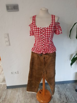 Traditional Leather Trousers light brown