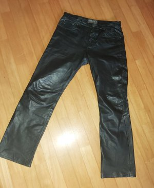 Enjoy Leather Trousers black