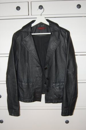 Review Blazer en cuir noir cuir