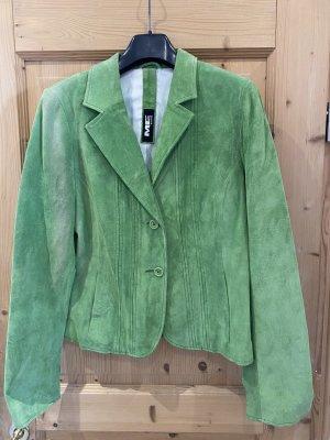 Milestone Leather Jacket green-grass green