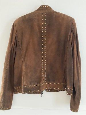Milestone Leather Jacket brown