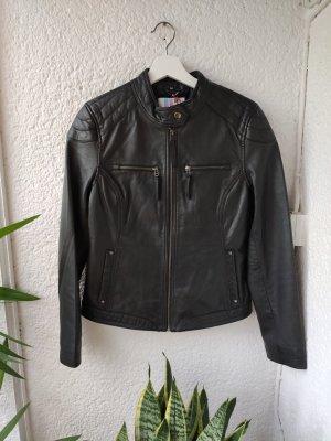 AJC Leather Jacket black leather