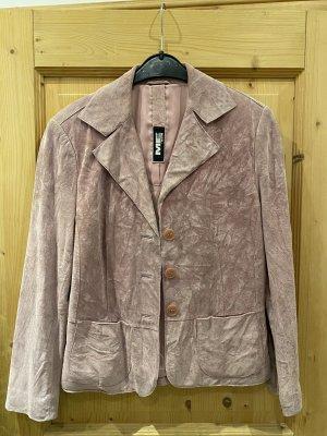 Milestone Leather Jacket pink-mauve