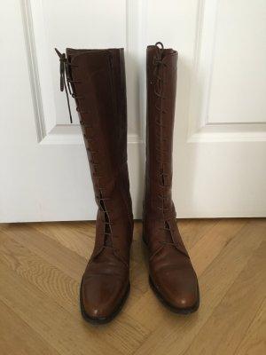 Esprit Bottes d'hiver brun cuir
